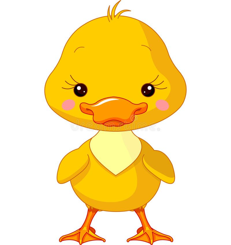 Photo About Farm Animals Illustration Of Cute Duck Illustration Of Character Cartoon Designs 40681305 Animal Clipart Cute Animal Clipart Farm Animals