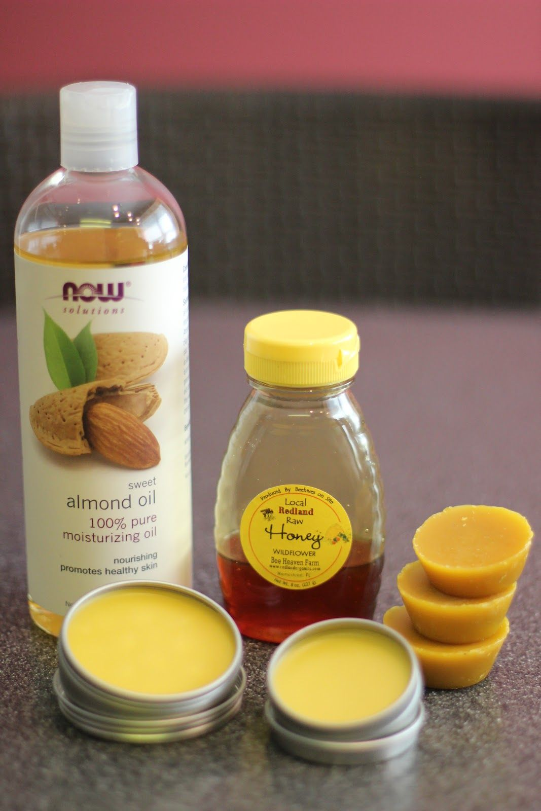 super easy, super frugal Homemade Lip Balm and Solid Lotion. All done in the microwave ;)