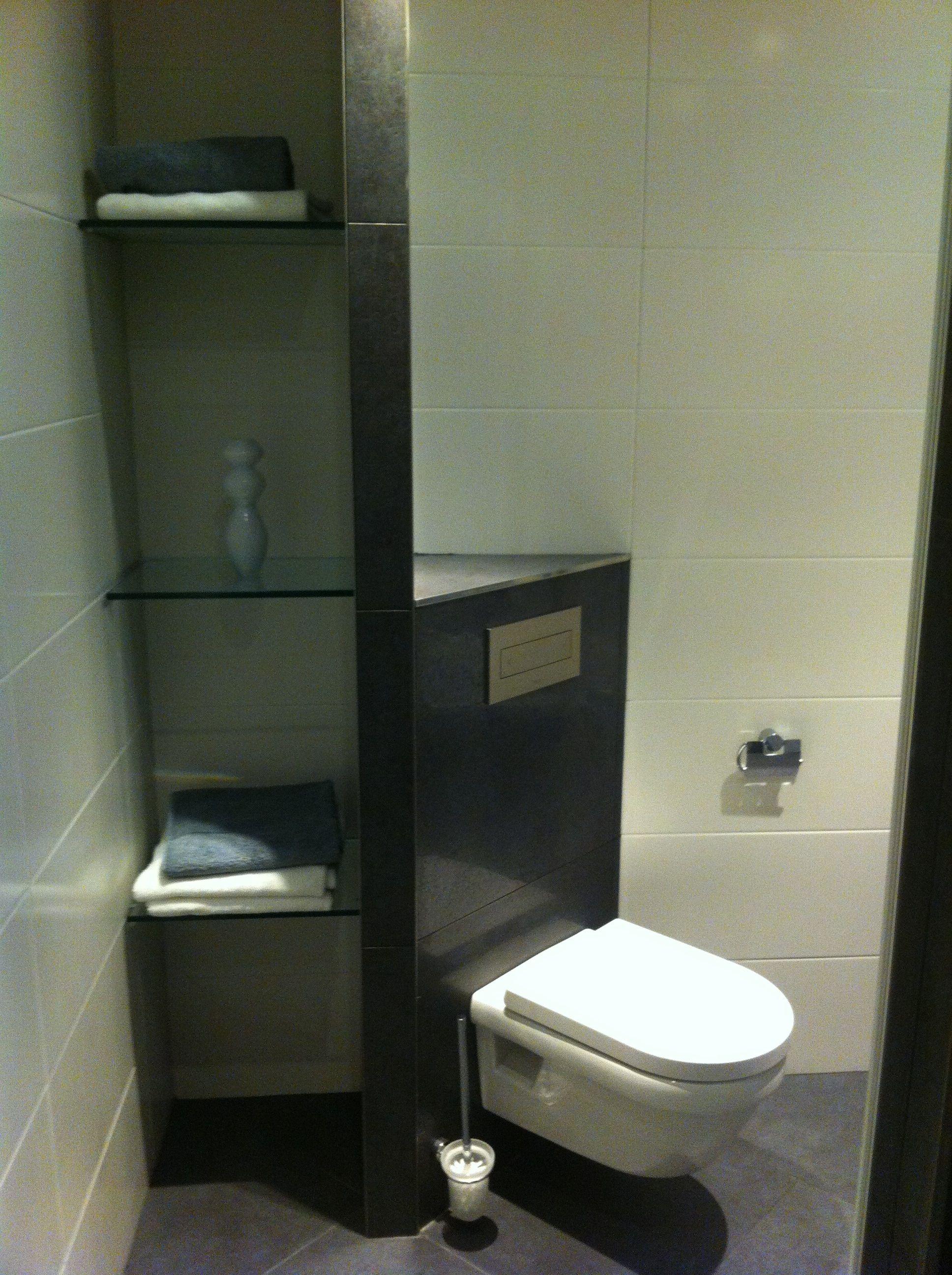 Hoektoilet Net Opbergruimte Badkamer Badkamer Inspiratie Toilet