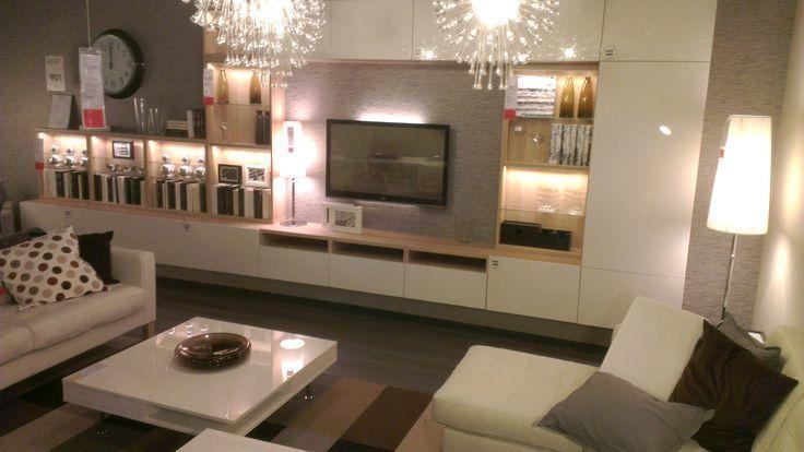 Exceptional Ikea Furniture Living Room Pictures Elegant Design Living Room With Ikea  Besta Tofta Media Storage Home Design Ideas
