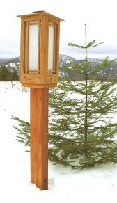Craftsman Wood Light Posts Styles Post And Area Lights By Idaho Wood Cedar And Powder Coated Lighting Outdoor Post Lights Outdoor Lamp Posts Outdoor Lamp