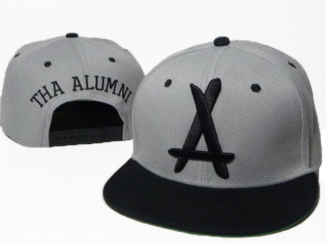 tha alumni snapback hats caps gray black 5896 only 8 90usd pin