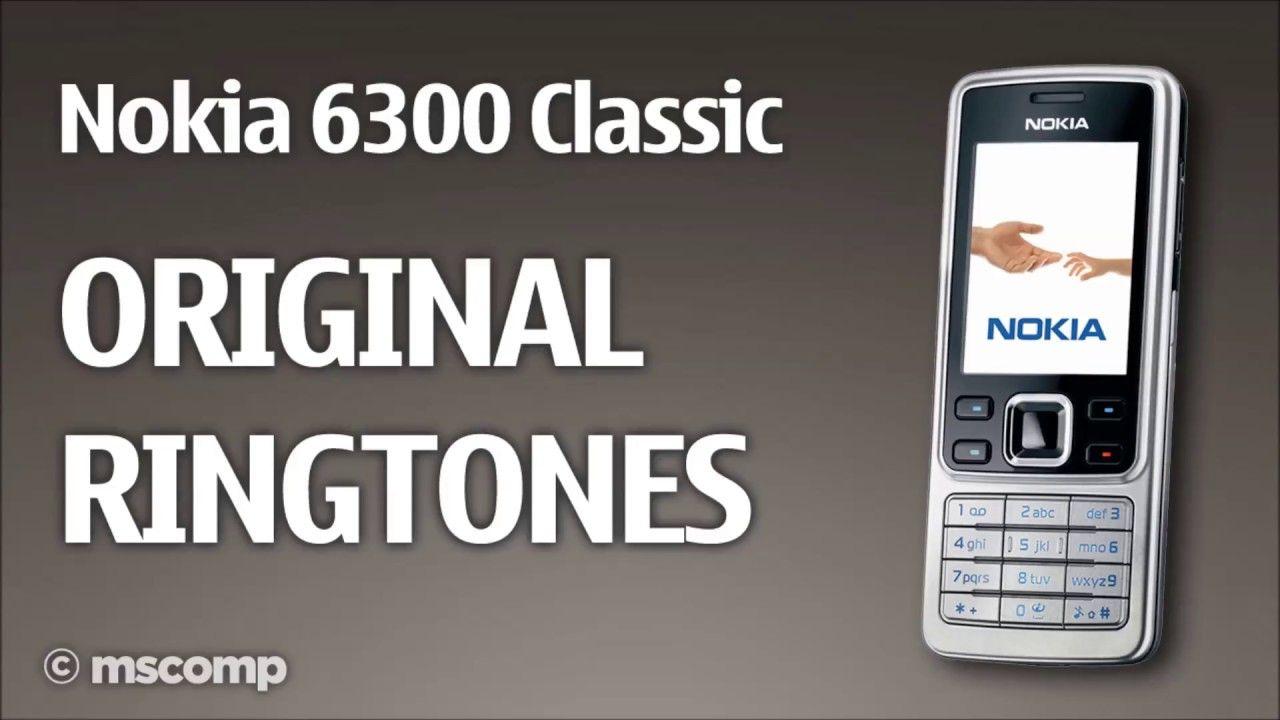 Nokia 6300 Classic Original Ringtones Useful Item The