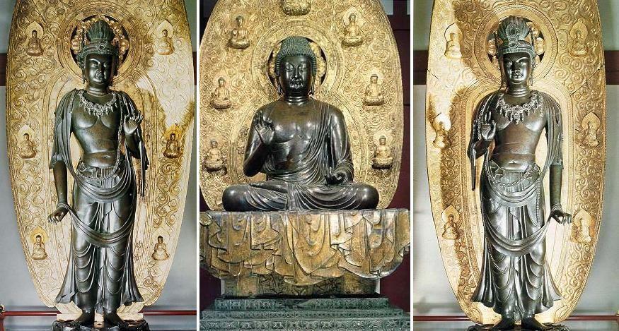 Yakushiji Buddha Art Buddha Buddhism Art