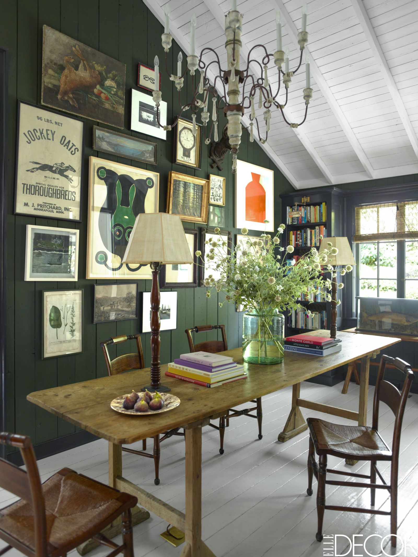 Elle Decor Interior Designers house tour: an abandoned summer camp becomes an eclectic