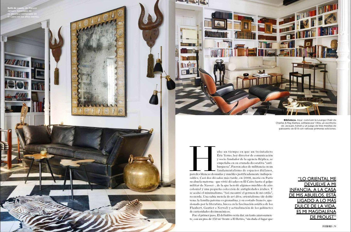 Revista Interiores Mes De Febrero Stlemelianrandolph Design Interiors Revista Interiores Interiores Revistas