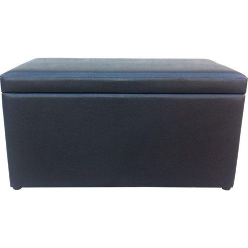 Mainstays Storage Bench Walmart Com Leather Storage Bench Storage Ottoman Storage