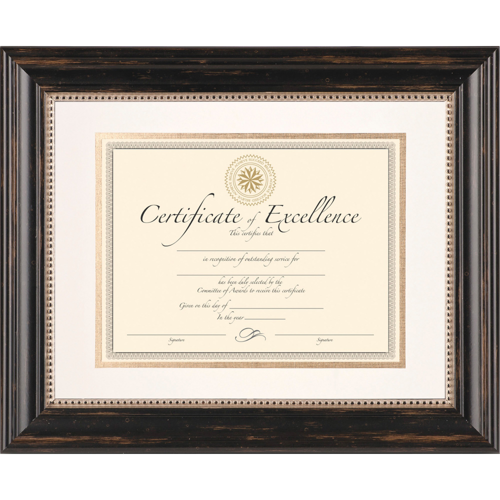 Free 2-day shipping on qualified orders over $35. Buy DAX Genova Document Frame with Mat, 11 x 14, 8 1/2 x 11, Plastic, Black at Walmart.com