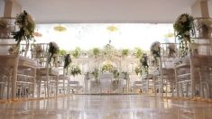 Beautiful yet simpe white and leafy decoration idea | Project by Soe