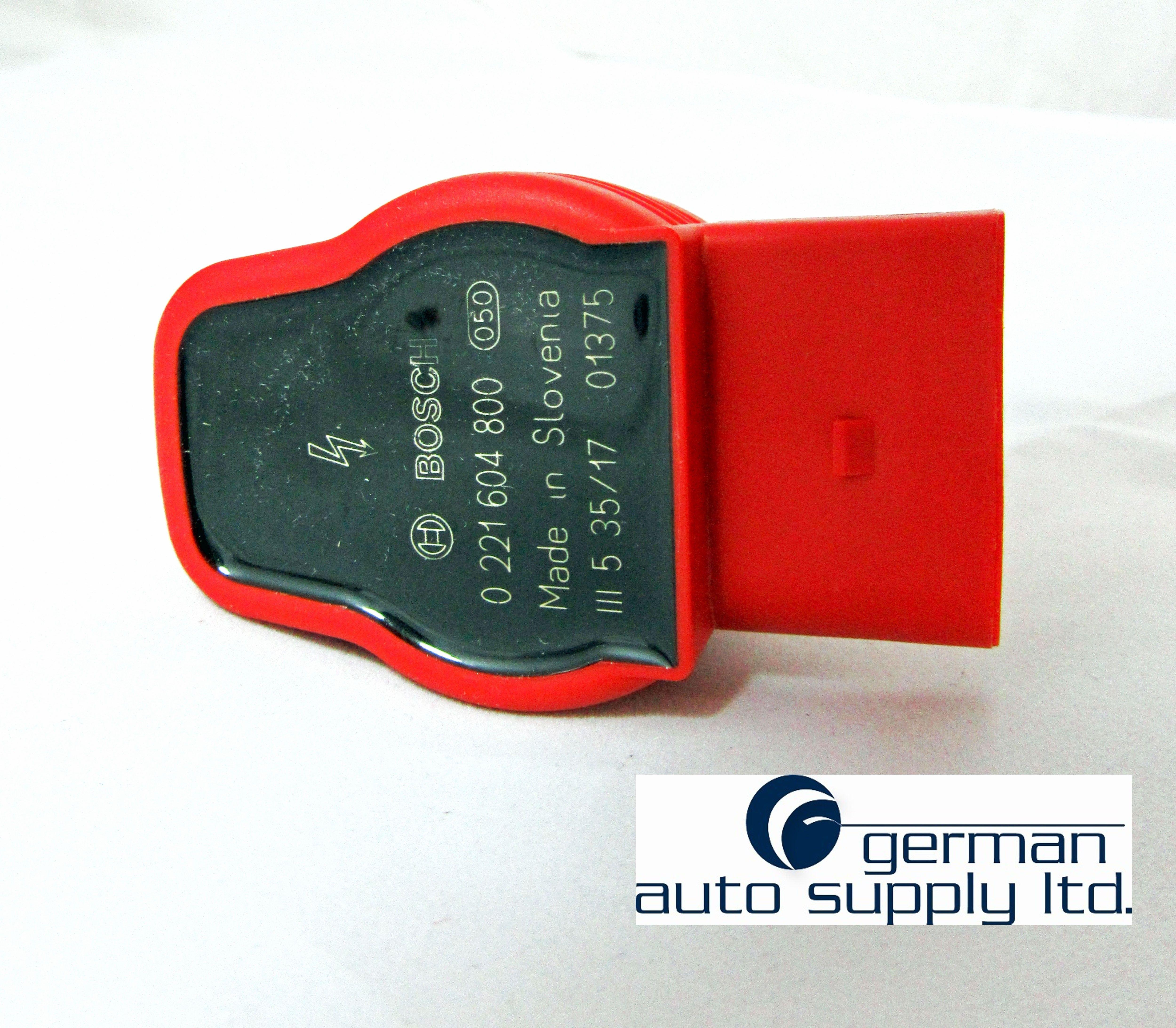 Audi Volkswagen Porsche 8 Piece Ignition Coil Set Bosch 0221604800 Porsche Ferrari Auto Supplies Bosch