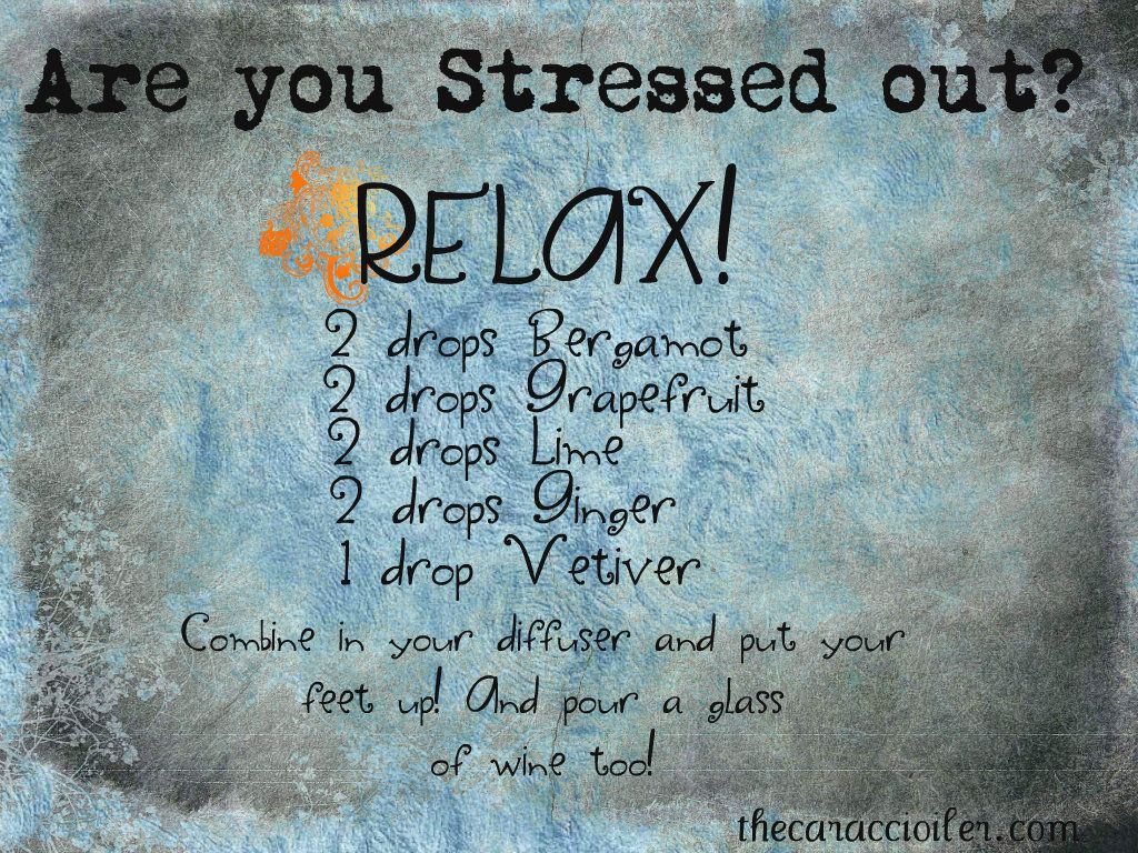 Stressed out? Relax!  Thecaraccioiler.com