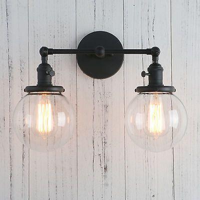 Pathson 5 9 Globe Gl Vintage Double Arm Wall