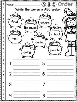 halloween activities for first grade math and literacy halloween worksheets. Black Bedroom Furniture Sets. Home Design Ideas