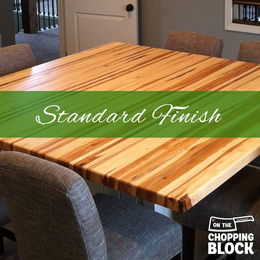 Colors That Bring Out The Best In Your Kitchen: A Standard Oil Finish Brings Out The Natural Color Of The
