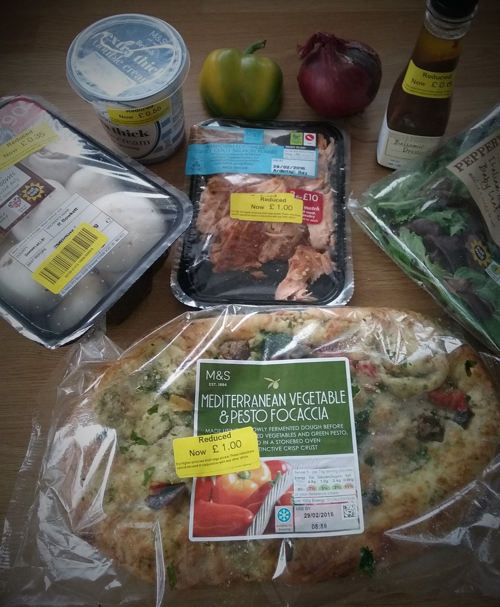 Marks And Spencer Reduction Times No Cook Meals Delicious