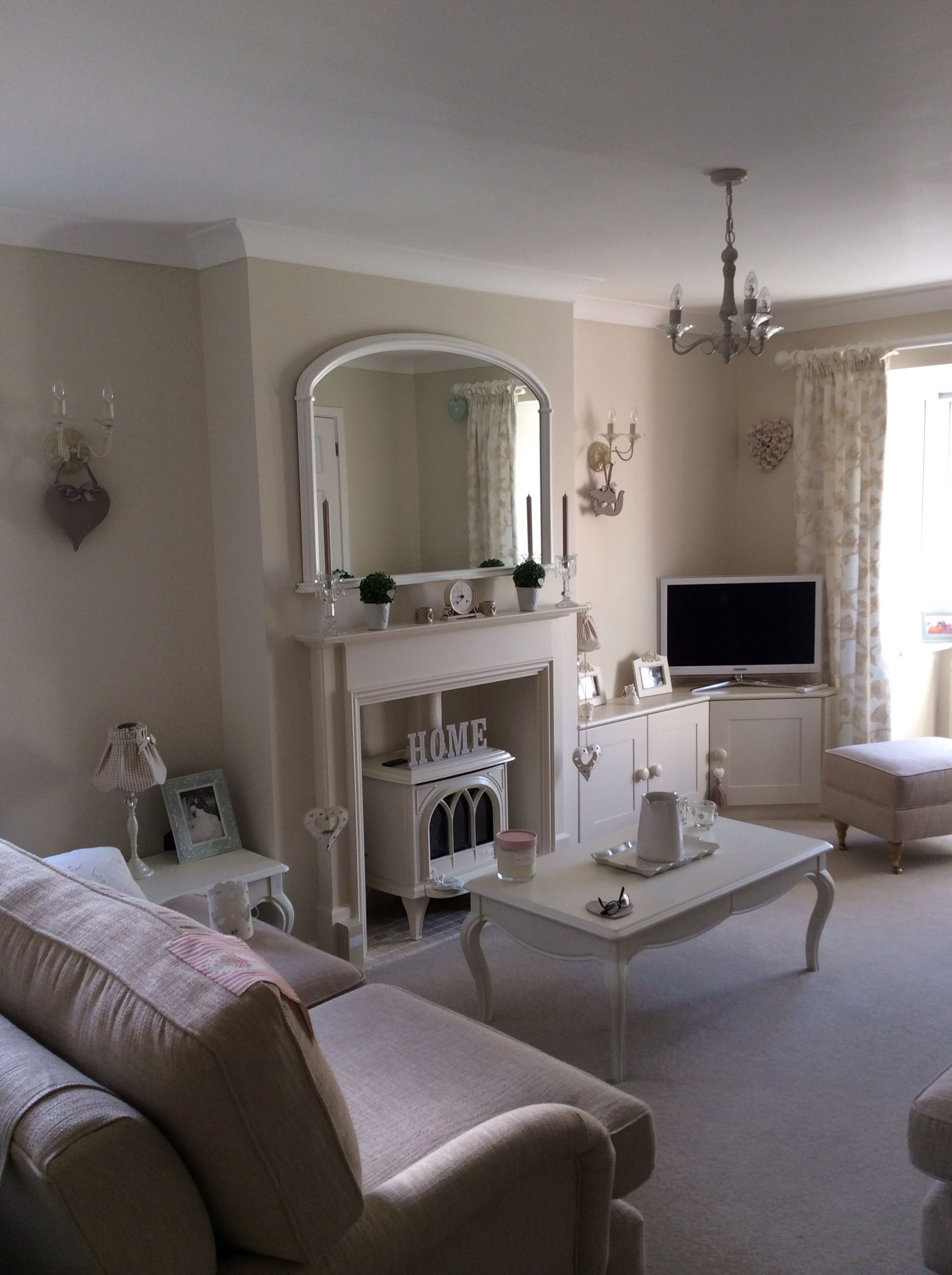 Taupe Lounge Mums Farrow Amp Ball Clunch Walls Cosy