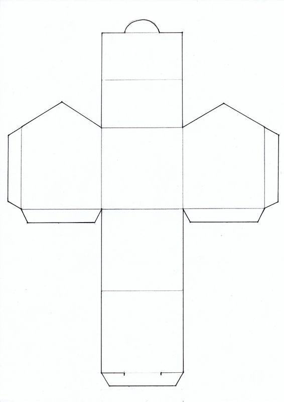 Mosa que et maisonnette argile barbotine case maisons en papier maison en carton et - Gabarit maison en carton ...