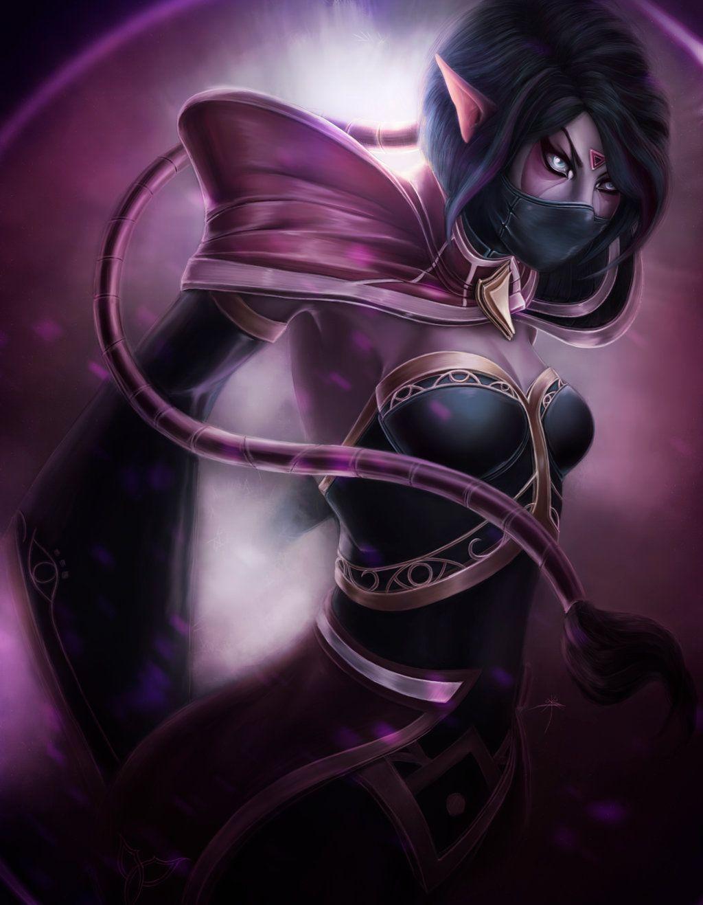 dota2 templar assassin by sukus dota 2 pinterest fantasy