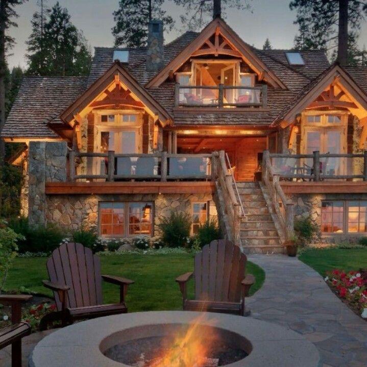 Beautiful log home!