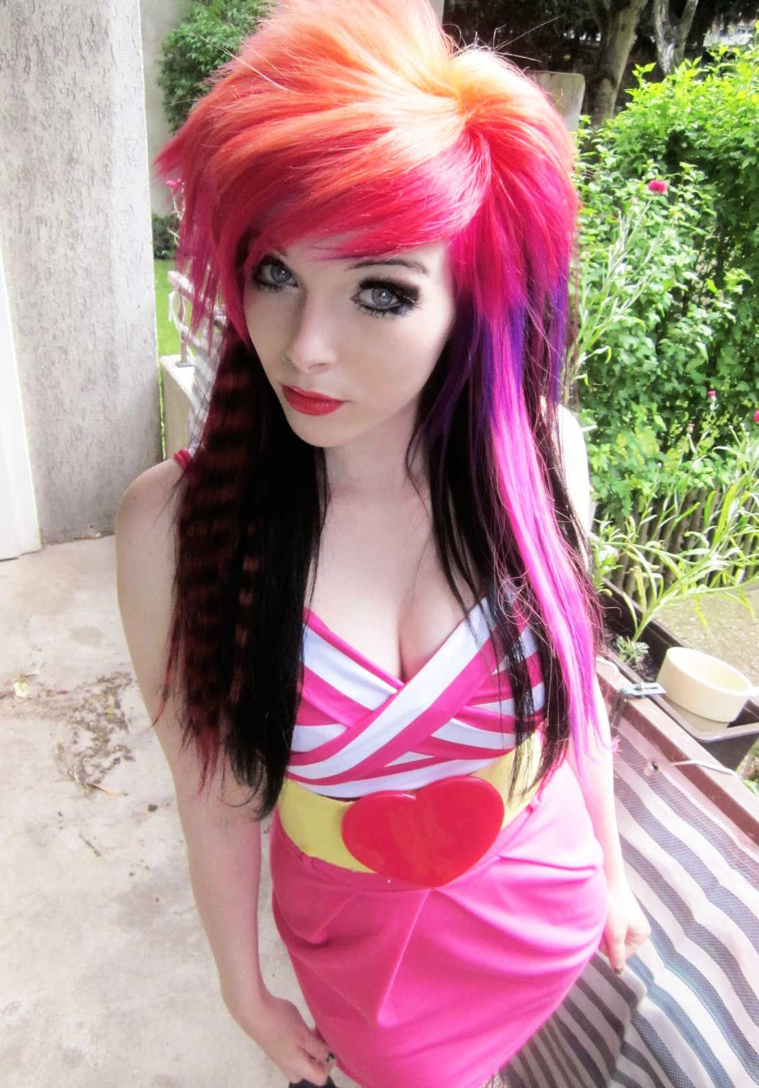 Admirable 1000 Images About Emo Girls On Pinterest My Hair Pink Hair And Short Hairstyles Gunalazisus