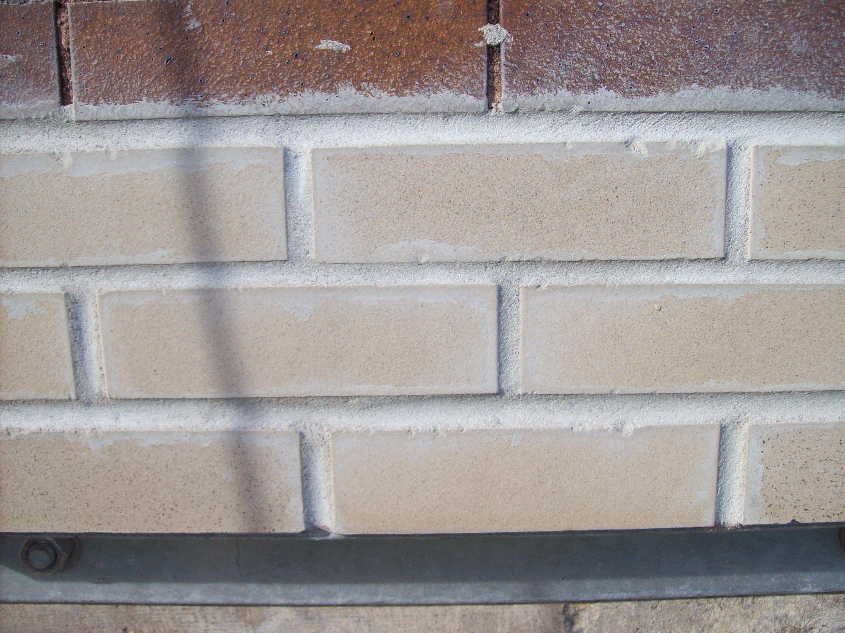 Completed Restoration On A Brick Wall Masonry Contractor Restoration Masonry
