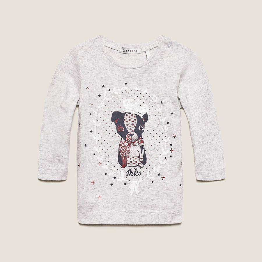 Camiseta bebé IKKS (XC10110) | Ropa Bebé Niña Invierno 2013