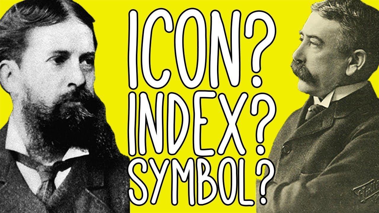 This video explains semiotics in the light of icons, index