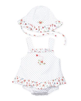 01d448b35 Ladybug Garden Ruffle Bubble, 0-9 Months by Kissy Kissy at Neiman Marcus.