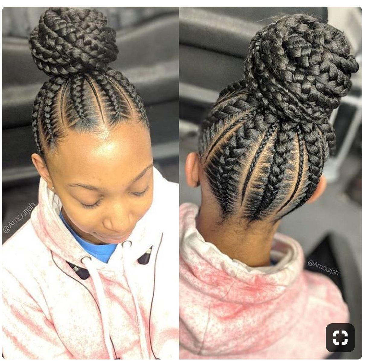 Protective Hairstyle Feed In Braids Hairstyles Braided Hairstyles Braids For Black Hair