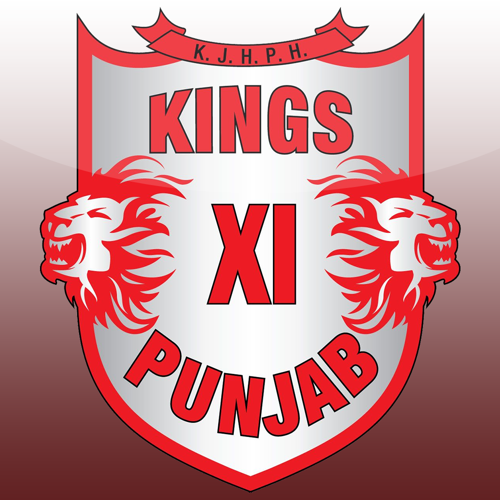 KINGS XI PUNJAB Logo Cricket teams, Punjab, Ipl