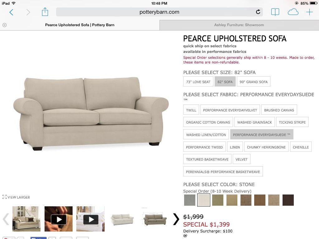 alex chair arhaus bedroom crushed velvet pottery barn sofa stone color ahome pinterest