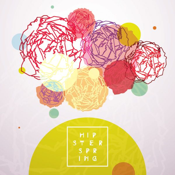 Hipster Spring Vector Graphic - DryIcons