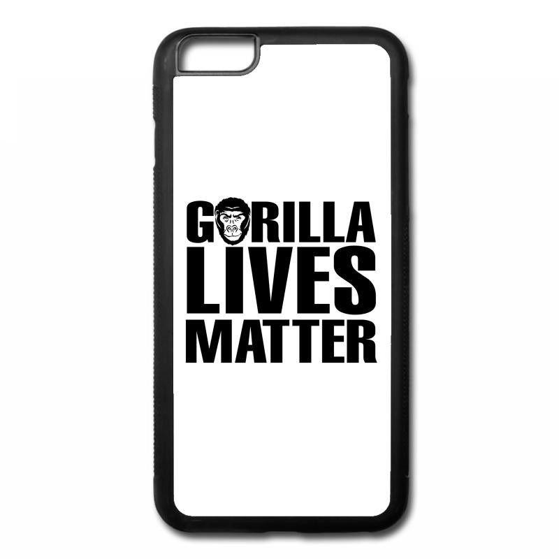 Gorilla Lives Matter iPhone 6/6s Plus Rubber Case