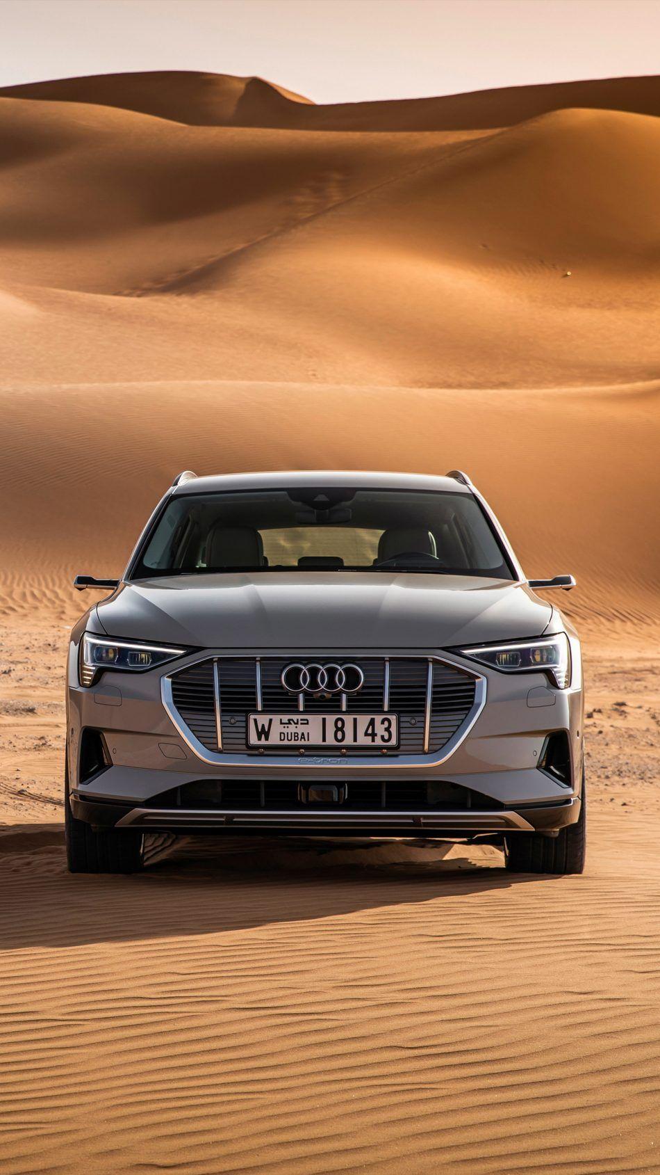 Audi E Tron 55 Quattro Dubai Desert Free 4K Ultra HD Mobile Wallpaper