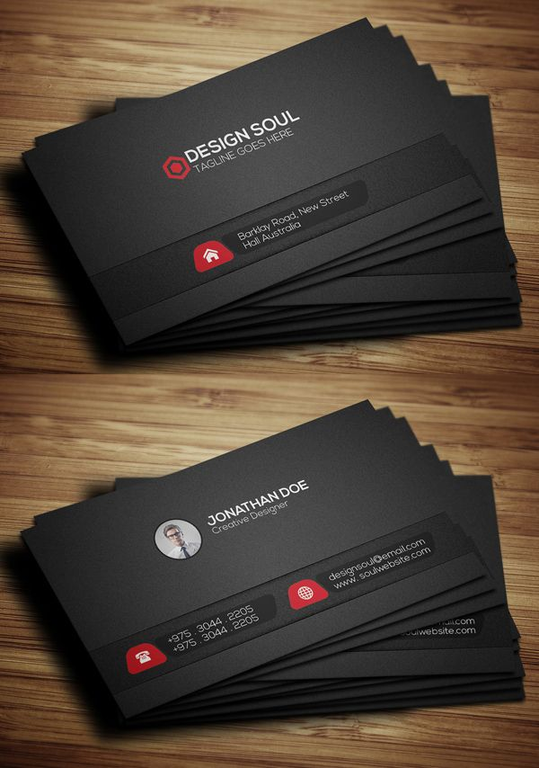Modern Business Cards Design: 26 Creative Examples ...