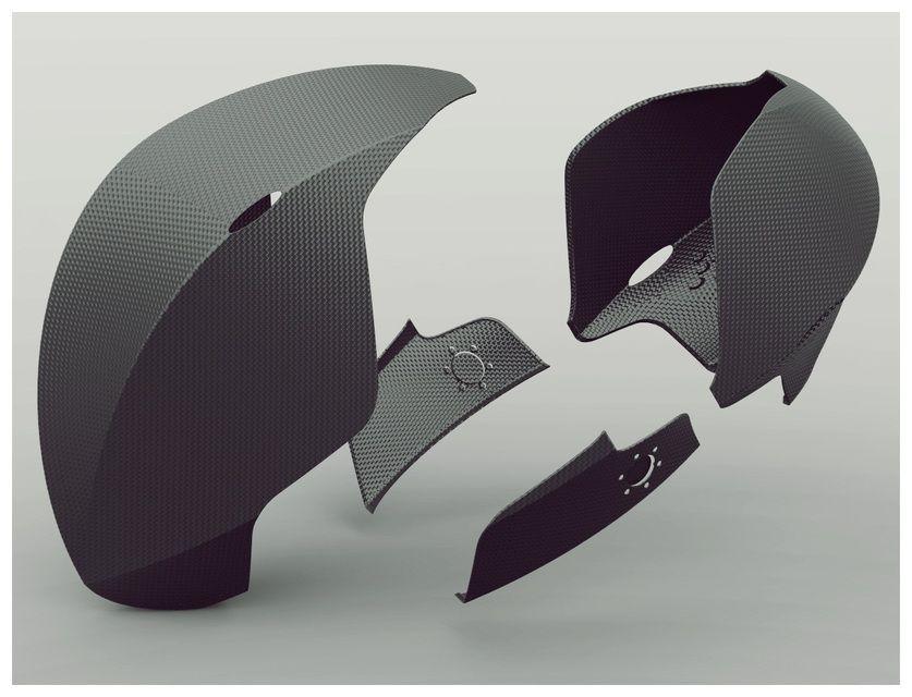 RINZLER HELMET - TRON MOVIE - STEP / IGES,SOLIDWORKS - 3D