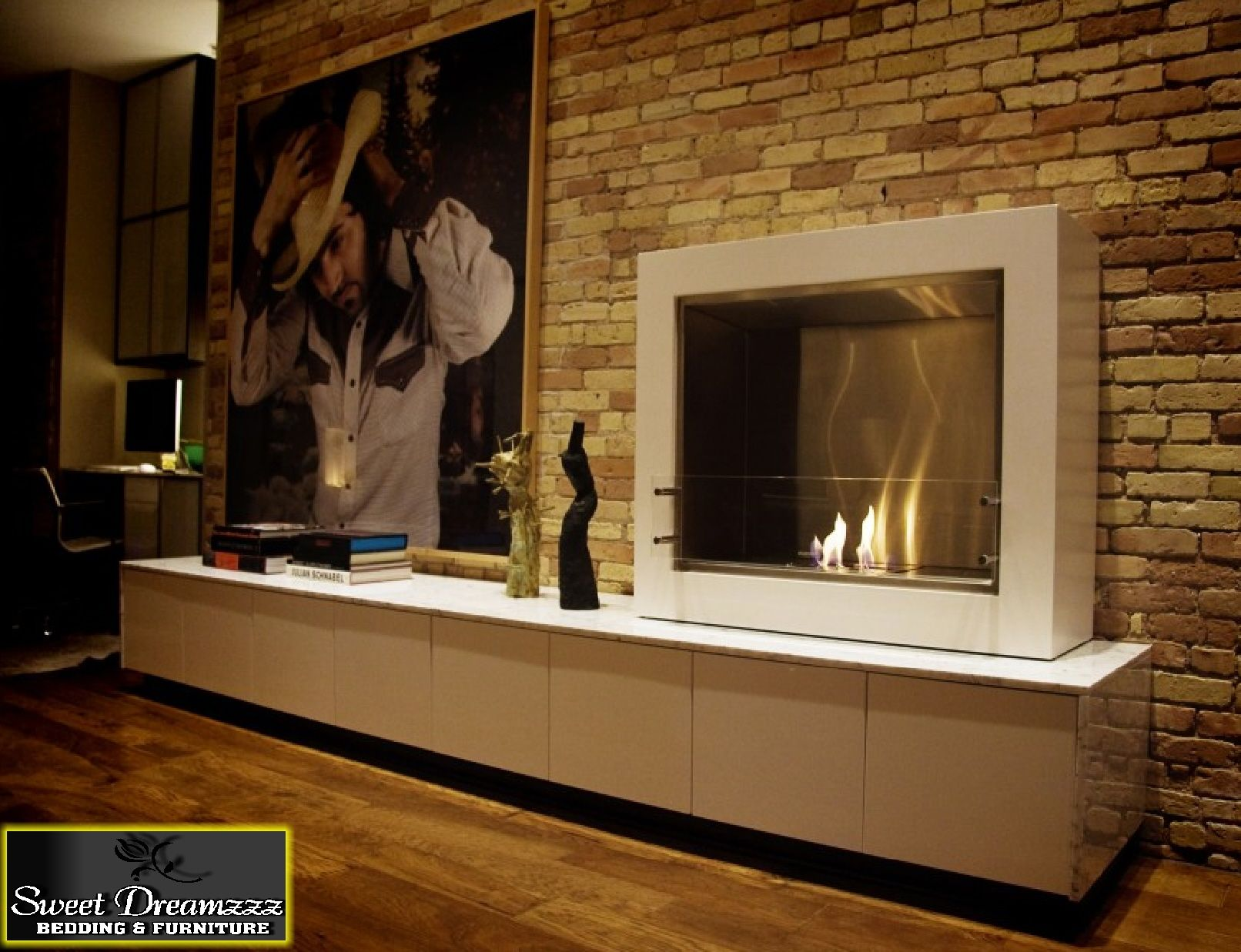 Indoors u outdoors ecosmart fire pinterest