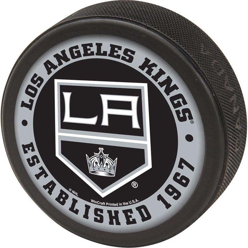 ed4f781e4c1 Los Angeles Kings WinCraft Printed Hockey Puck