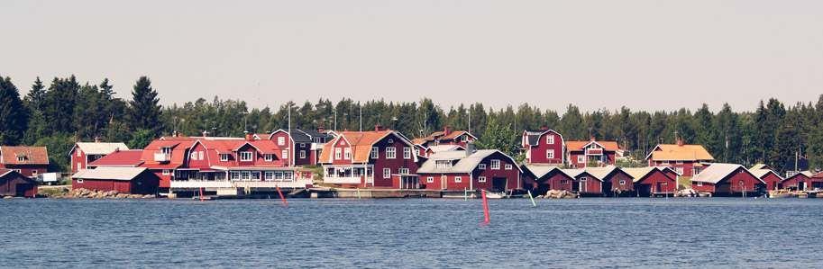 Albertina - the restaurant in the fishing village, Skärså, where I live.