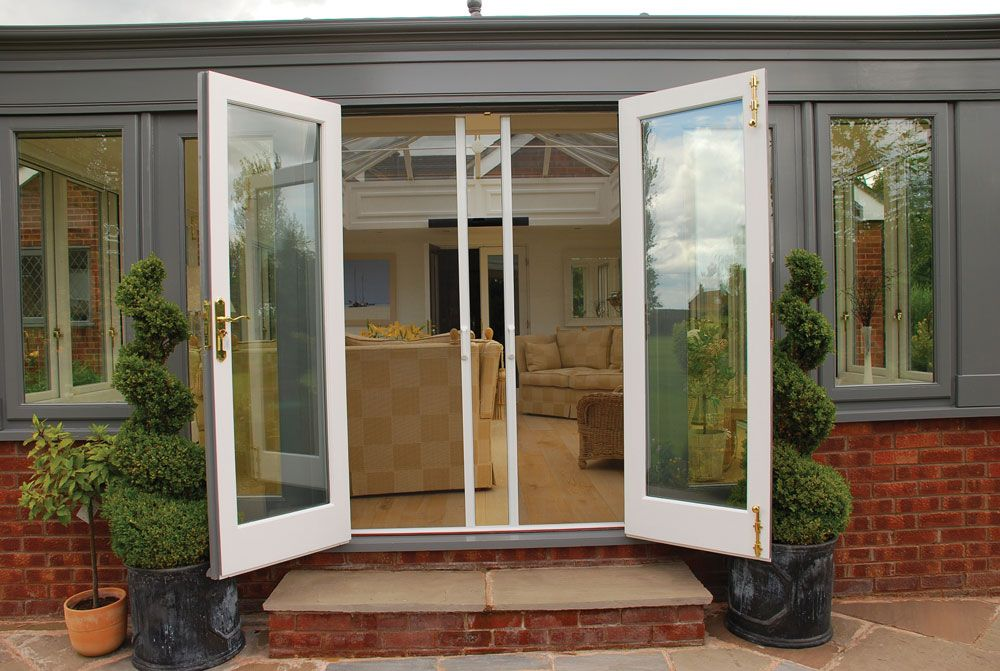 Sliding mosquito screens sturdy framed powder coated for French door sliding screen