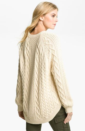 MICHAEL Michael Kors Fisherman Cable Knit Sweater