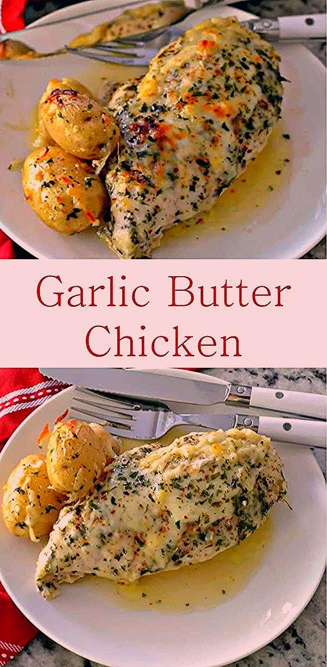 This is The Best Garlic Butter Chicken Recipe