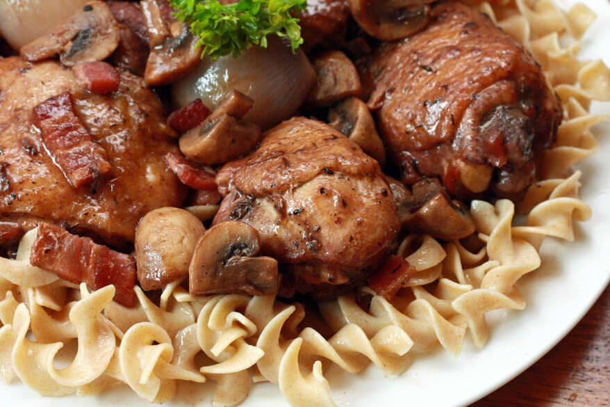 Coq au vin recipe coq au vin entrees and main dishes coq au vin coq au vinfrench recipeskitchen stufffood dinnersthe forumfinder Gallery