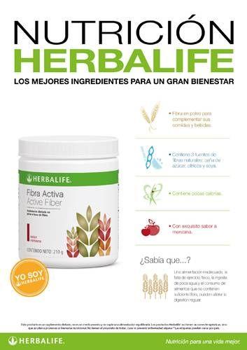 Fibra Activa | herbalife | Pinterest | Grasa, Bajar grasa