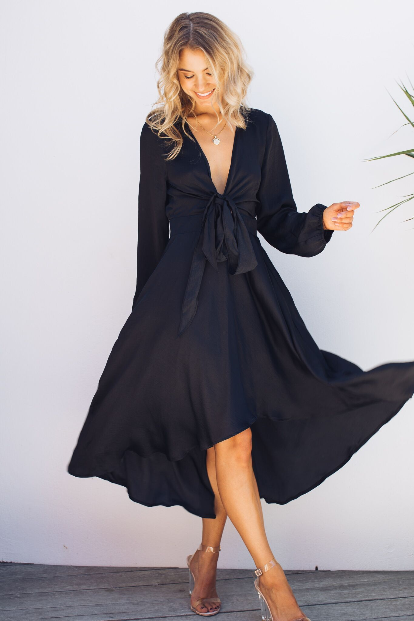 Bryleigh Dress Black Summer Wedding Attire Wedding Attire Guest Black Tie Dress Wedding [ 2048 x 1365 Pixel ]