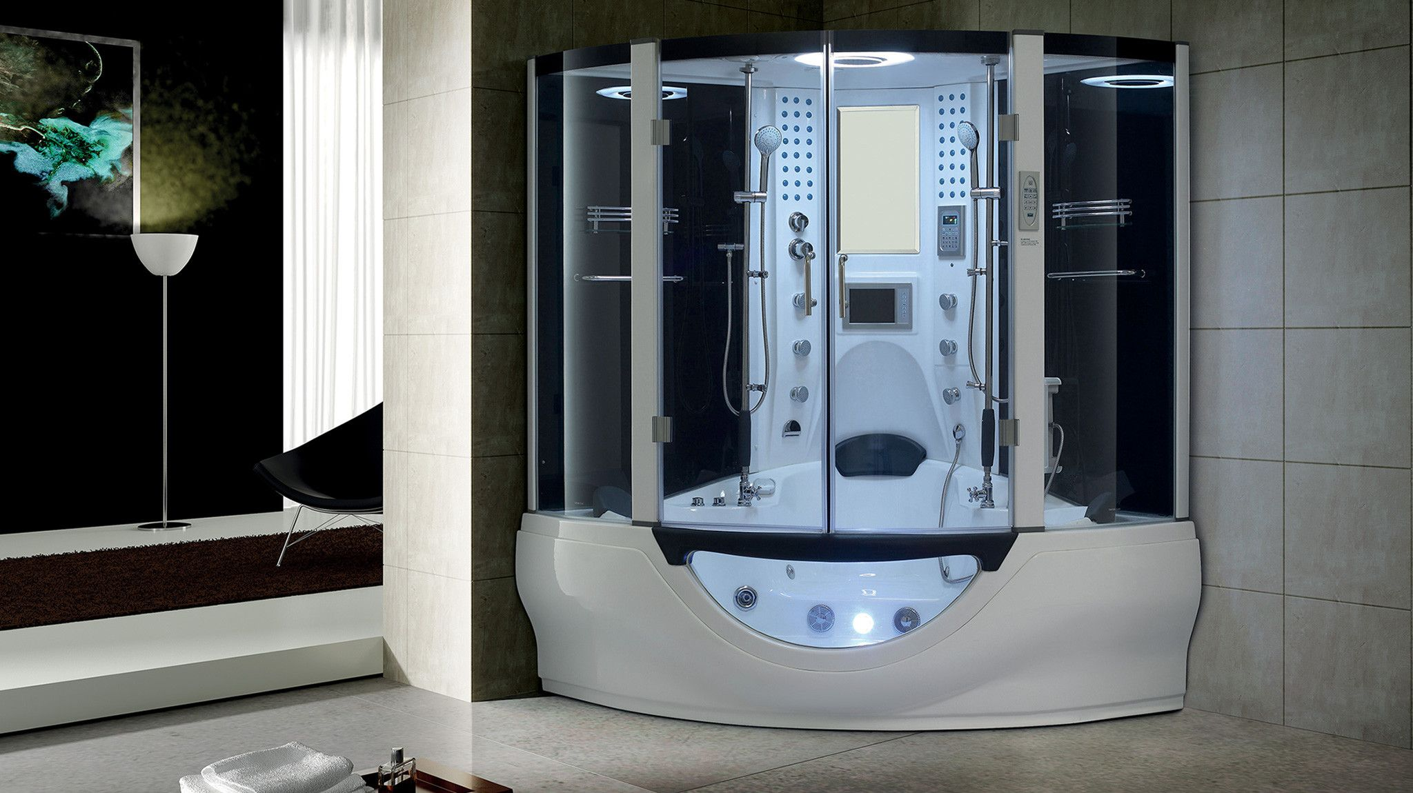 Experience Elegant Steam Showers with a Modern Flair.;Weekend Sale ...