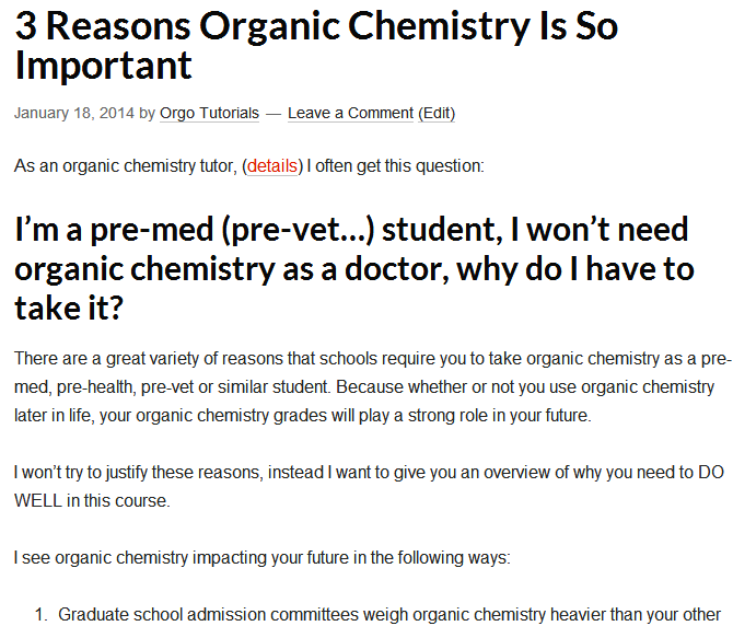 Why is organic chemistry so hard? - Quora