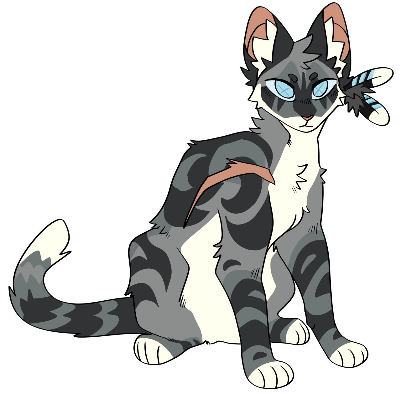 Softbounce Jayfeather Warriorcat Warrior Cats Art Warrior