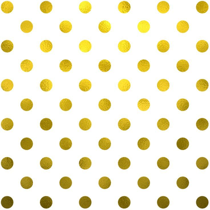 free gold foil polka dots digital paper