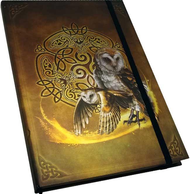 Celtic Owl journal - www.thetarotoracle.com